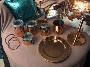 Copper/Rose Gold kitchen/Dining Room Set!!! for Sale in Norwalk, CA