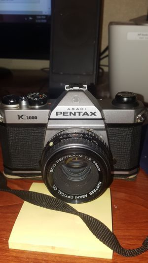 Asahi Pentax K1000 Camera for Sale in Glendale, AZ
