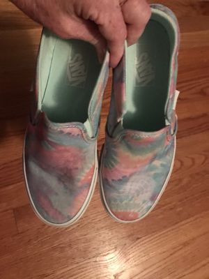 Vans- worn x2 size women's 7.5M for Sale in Greenville, NC
