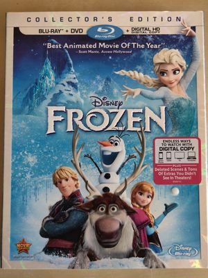 Frozen (2014) - Disney film in DVD, BLU-RAY, and Digital Copy for Sale in Tacoma, WA