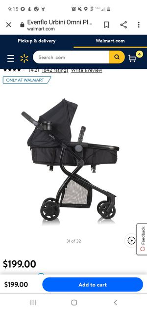 Urbini stroller with car seat for Sale in Palmdale, CA
