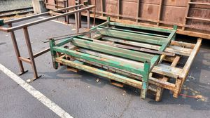 Steel Forklift Racks (4) for Sale in Kent, WA