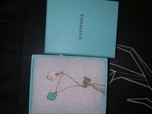 Tiffany & Co necklace + pendant for Sale in Towson, MD