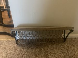 Rustic style wall shelf for Sale in Columbus, OH