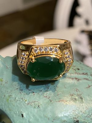 Men's Gold Plated Ring With Stone Size 10 for Sale in Nashville, TN
