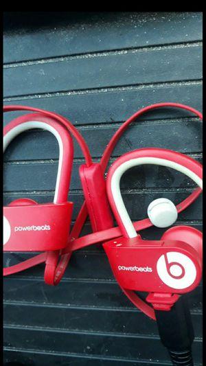 Beats Powerbeats 3 Wireless Bluetooth In-Ear Earphones with Mic -Red for Sale in Long Beach, CA