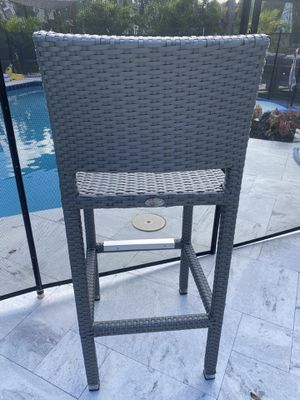 Feruci, Javaan collection outdoor patio barstools for Sale in Fort Lauderdale, FL