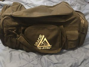 Gracie Jiu Jitsu Duffle Bag for Sale in Parker, CO