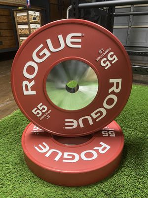 NEW ROGUE 55LB COMPETITION PLATE WEIGHTS for Sale in Fontana, CA