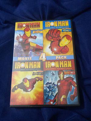 Iron Man 4 Pack Volume 1&2 Season 2 Volume 1&2 DVD for Sale in Brooklyn, NY