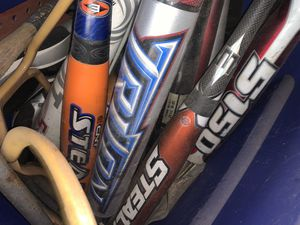 31/18 youth baseball bats for Sale in Norwalk, CT