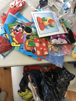 Mickey Mouse clubhouse party decor supplies for Sale in West Springfield, VA