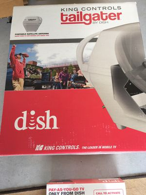dish tailgater model bk lulz00362l with vip 211z for sale for Sale in Angier, NC
