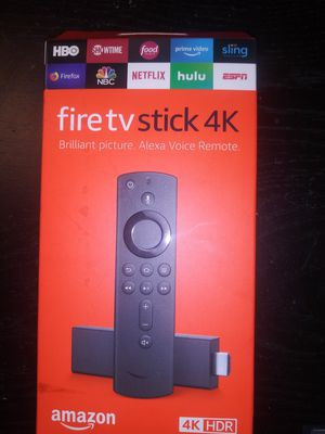Fire tv stick 4k HDR for Sale in Lake Wales, FL