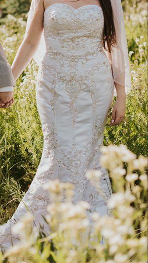 Trumpet Beaded Wedding Dress for Sale in Irvine, CA