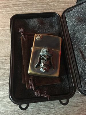 Custom made zippo lighter (WW2 Russian skull) for Sale in Santa Ana, CA