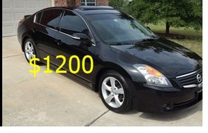Price $1200 Great shape.2wdWheels 2008Nissan Altima SE for Sale in Anchorage, AK