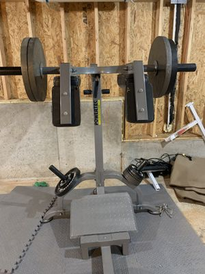 Squat and Calf Raise Machine for Sale in Gainesville, GA
