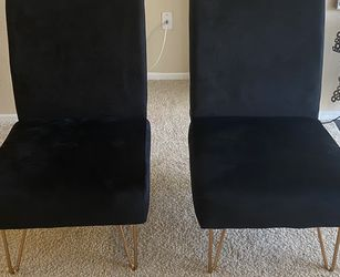 Two Velvet Accent Chairs (please read details) for Sale in Ontario,  CA