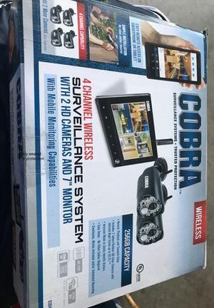 Cobra surveillance system for Sale in Stockton, CA