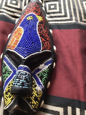 BEADED AFRIAN MASK for Sale in Aurora, CO