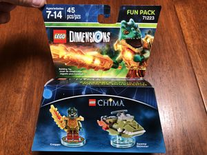Lego Dimensions Chima Cragger 71223 for Sale in Los Angeles, CA