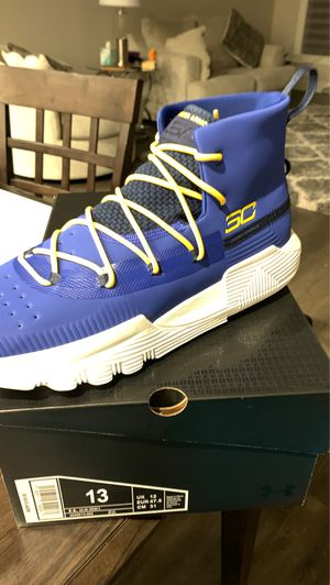 Steph Curry 3ZERO 2 shoes size 13 for Sale in Tacoma, WA