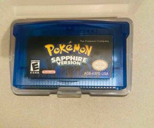 Pokemon Series Video Game Cartridge Console Card Classic Sapphire for Sale in Philadelphia, PA