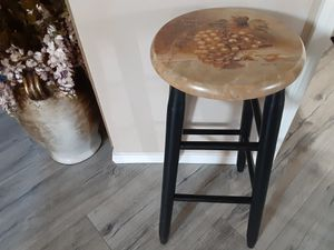 Swipe left for more pics. One custom painted stool. for Sale in Tacoma, WA