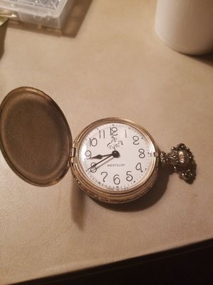 Working old West Clox pocket watch. for Sale in Abilene, TX
