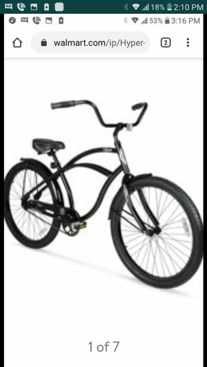 Hyper beach cruiser Bike First $65 Takes It for Sale in Fresno, CA