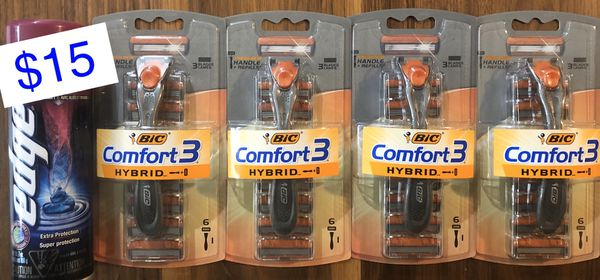 BIC Comfort3 Hybrid Bundle