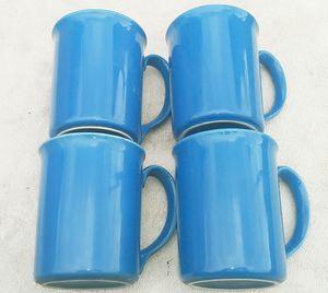 4 Cornering Coffee / Tea mugs, Sky Blue for Sale in El Monte, CA