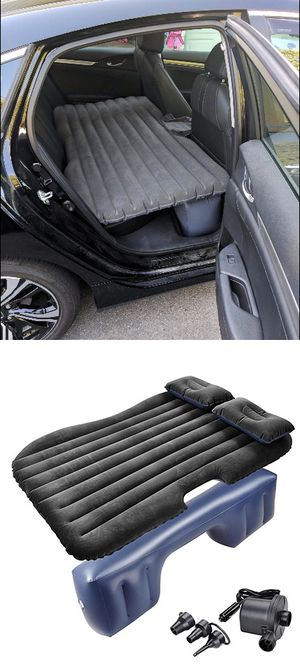"New $25 Inflatable Mattress Car Air Bed Backseat Cushion Camping w/ Pillow Pump 54x33"" for Sale in El Monte, CA"