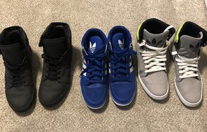 High Top Adidas Sneaker Bundle for Sale in St. Louis, MO
