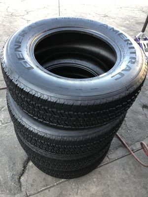 245/70R17 General Tires (4 for $150) for Sale in Whittier, CA