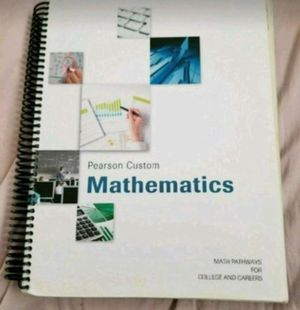 Mathematics by Pearson Custom book for Sale in Bloomington, MN