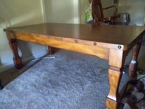 Oak wood coffee table for Sale in Houston, TX