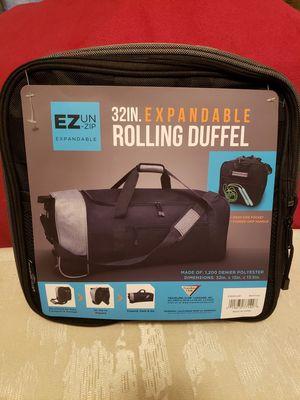 New item. Folded rolling duffel bag for Sale in Las Vegas, NV