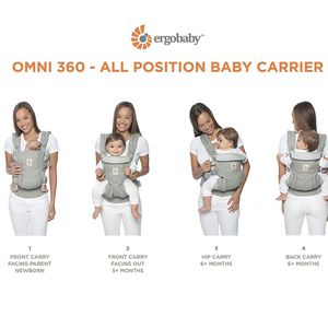 Ergobaby 360 Baby Carrier for Sale in Redmond, WA