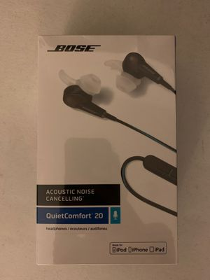 Bose QuietComfort 20 Headphones / Earbuds for Sale in Coronado, CA