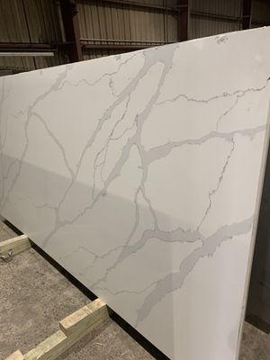 Calacatta Quartz 3cm $49.99 square feet installation fabrication includes for Sale in Houston, TX
