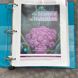 The Science Of Nutrition (Fifth Edition) for Sale in Bothell,  WA
