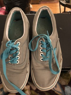 Unisex grey and blue Vans for Sale in Owings Mills, MD