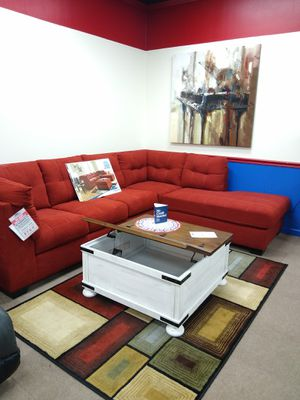 Ashley sofa chaise for Sale in Uniontown, PA