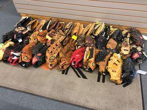 Used baseball softball gloves for Sale in Renton, WA