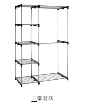 Hanging Closet Organizer and Storage Heavy Duty Clothes Sturdy Metal for Sale in Brooklyn, NY