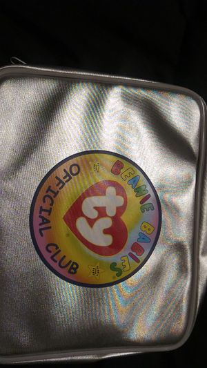 Platinum membership Beanie Baby official Club collectors bag for Sale in DeSoto, TX