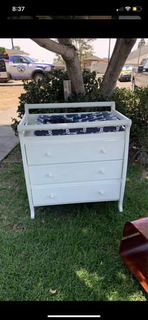 Wooden changing table for Sale in Chula Vista, CA