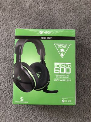 Xbox One Turtle Beach Stealth 600 Wireless Surround Sound Gaming Headset for Sale in Denver, CO